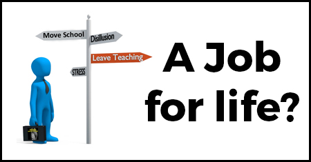 Thinking of Leaving Teaching - Job for life