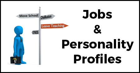 Thinking of Leaving Teaching - Personality Profiles