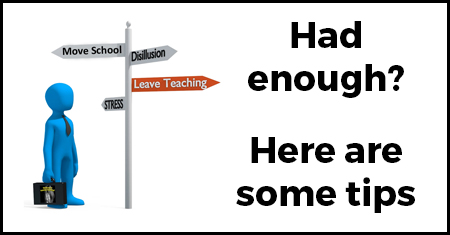 Thinking of Leaving Teaching - Tips