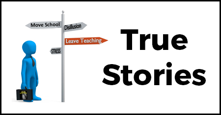 Thinking of Leaving Teaching - True Stories