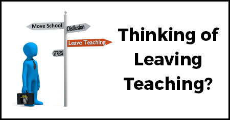 Are you at a crossroads in your career and thinking of leaving teaching? Are you exhausted or stressed and wondering what else you can do instead? Read on. This is the logo for Thinking of Leaving Teaching.