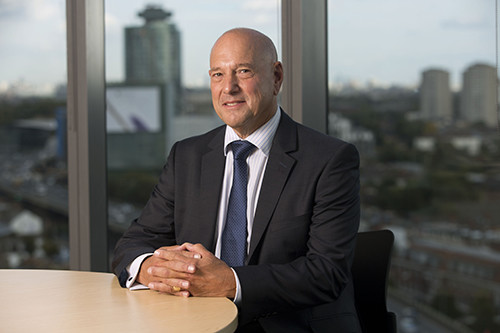 Image of Claude Littner, from the University of West London with the Launch of Claude Littner Business School.