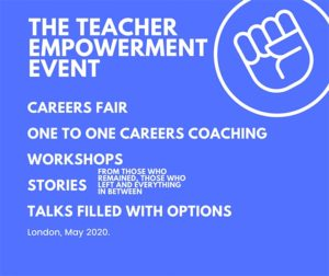 The Teacher Empowerment Project advert