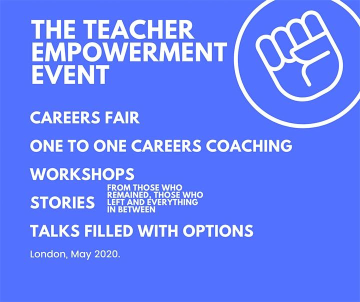 The Teacher Empowerment Project advert