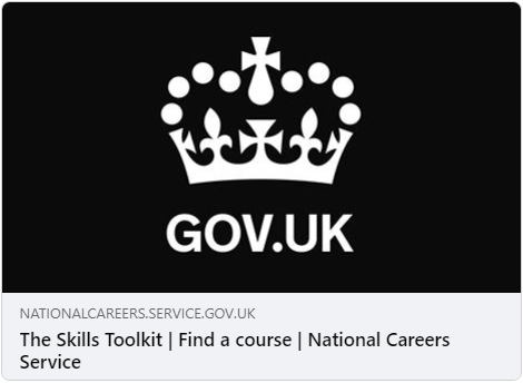 Logo for The Skills Toolkit by the National Careers Service
