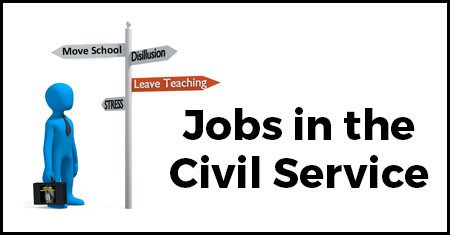 Jobs in the Civil Service